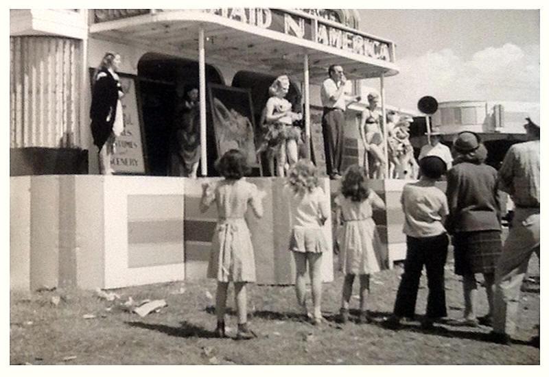 County fair strip show
