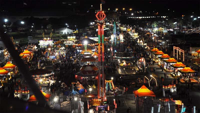 La fair dates