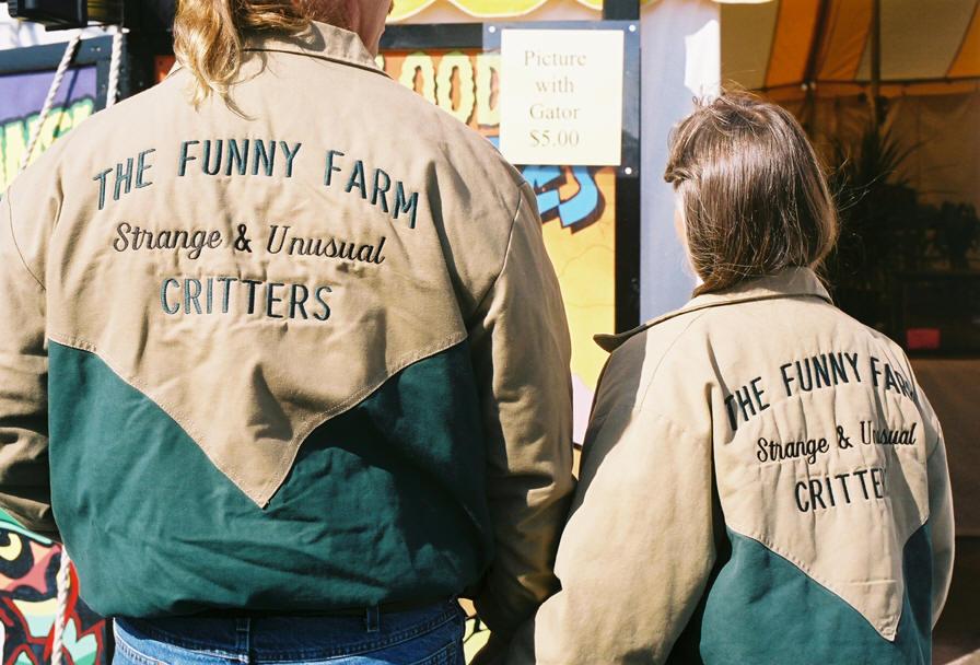 funny farm movie. Sideshow World, Freak Central,